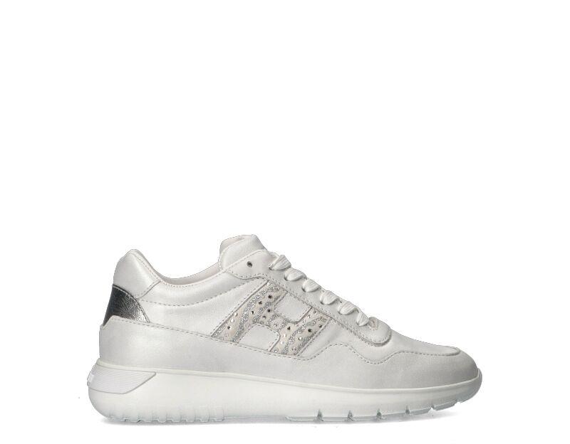 Hogan Sneakers Trendy donna bianco/argento