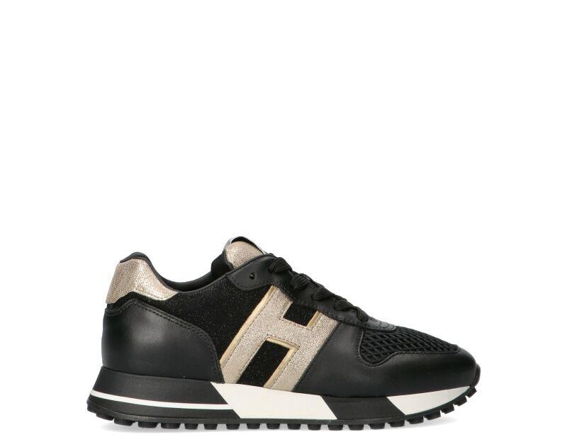 Hogan Sneakers Trendy donna nero/oro