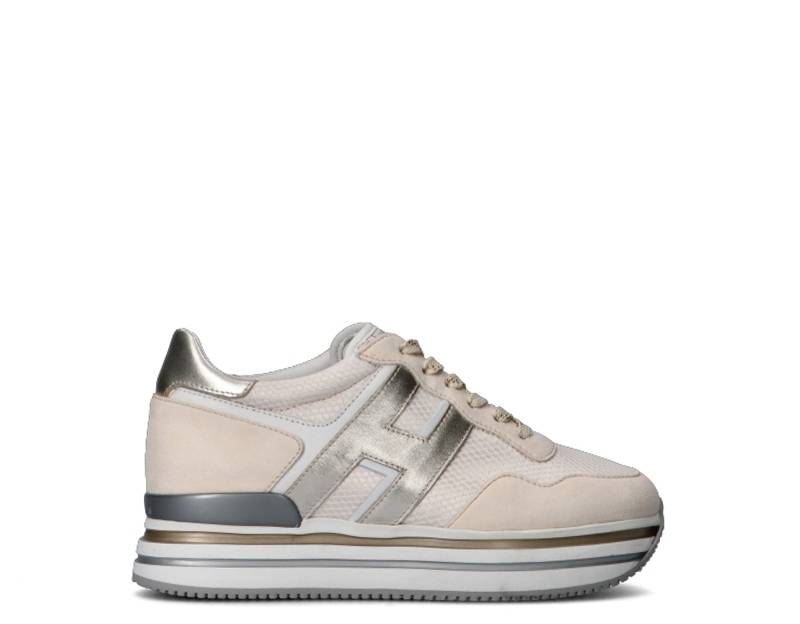 Hogan Sneakers Trendy donna bianco/platino