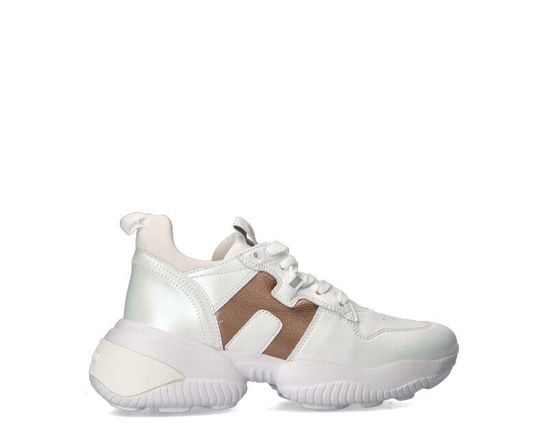 Hogan Sneakers Trendy donna bianco/oro