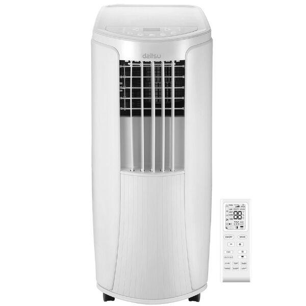 condizionatore portatile daitsu - gruppo fujitsu - mod. apd-12hk2 12000 btu raffreddamento / riscaldamento classe a/a+ (3nda0098)