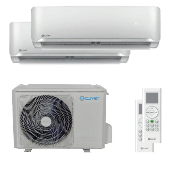 Condizionatore Clivet Essential 2 Dual Split 7000+9000 Btu Inverter A++ Unità Esterna 4,0 Kw (MU1-Y41M-IL2-XY20M-2-70669A)