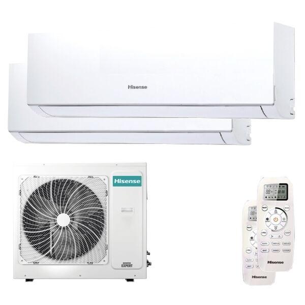Hisense Condizionatore Hisense New Comfort Dual Split 18000+18000 Btu Inverter A++ Unità Esterna 8,0 Kw (4AMW81U4RAA-DJ50XA0AG-2)