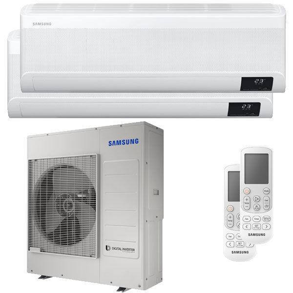 Samsung Condizionatore Samsung Windfree Avant Dual Split 24000+24000 Btu Inverter A++ Wifi Unità Esterna 10,0 Kw (AJ100TXJ5KG/EU-AR24TXEAAWKNEU-2)