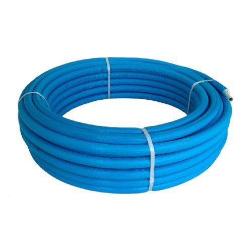 Tubo Rotolo Multistrato Rivestito Coibentato Isolato Bampi Modello Balpex Mtrixb620 20x2 A Metro Colore Blu
