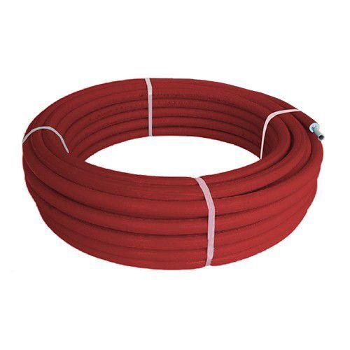 Tubo Rotolo Multistrato Rivestito Coibentato Isolato Bampi Balpex Mtrixb16 16x2 A Metro Colore Rosso
