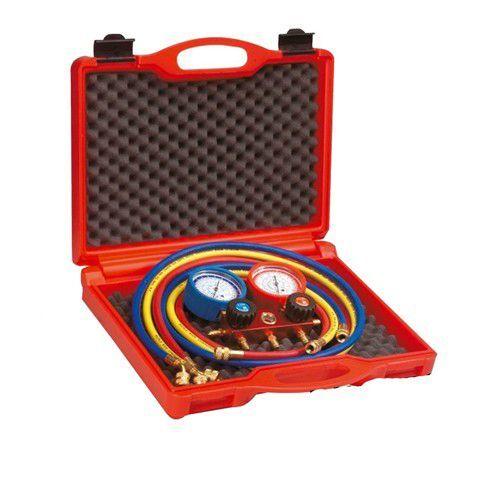 Generico Gruppi Manometrici 4 Vie Pulse Free Per Gas R22 R134a R404 R407 C 3x1/4