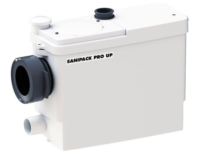 Sanitrit Trituratore Wc Sospeso Sanipack Pro Up Skup Da Incasso Per Lavabo, Bidet, Doccia Da 400 W