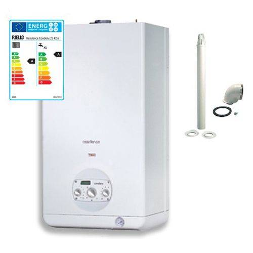 Riello Caldaia A Condensazione Residence Condens 25 Kis Erp 25 Kw Gpl Kit Fumi Incluso