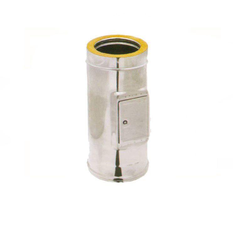 generico modulo d'ispezione doppia parete acciaio inox 80-130 cm