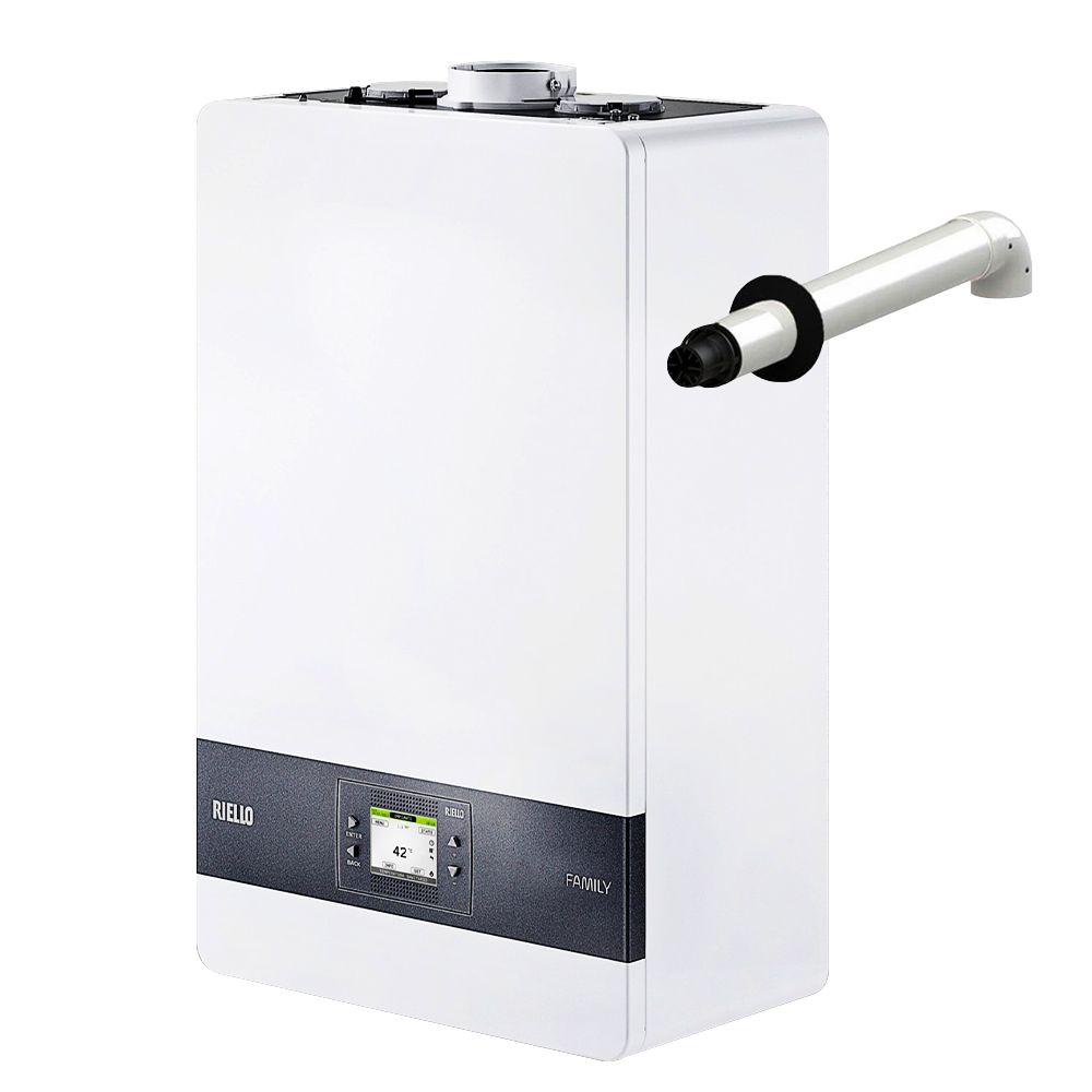 Riello Caldaia A Condensazione Family 30 Kis Erp Con Gas A Metano O Gpl