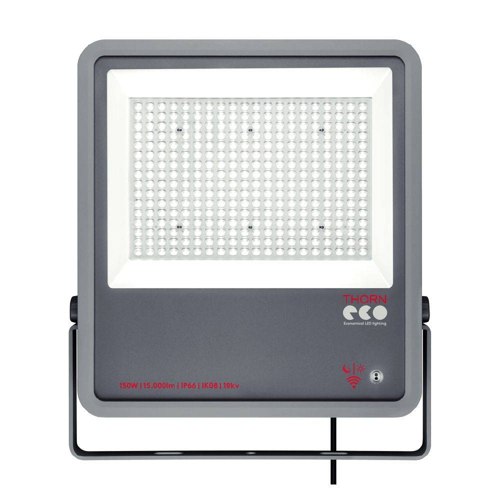 Proiettore Estensivo Faro A Led Da Esterno Thorn Leo Fl Ip66 100w 840 Pc