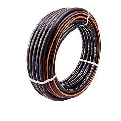 generico tubo gomma per irrigazione da giardino retinato 1/2 claber top black 30 metri
