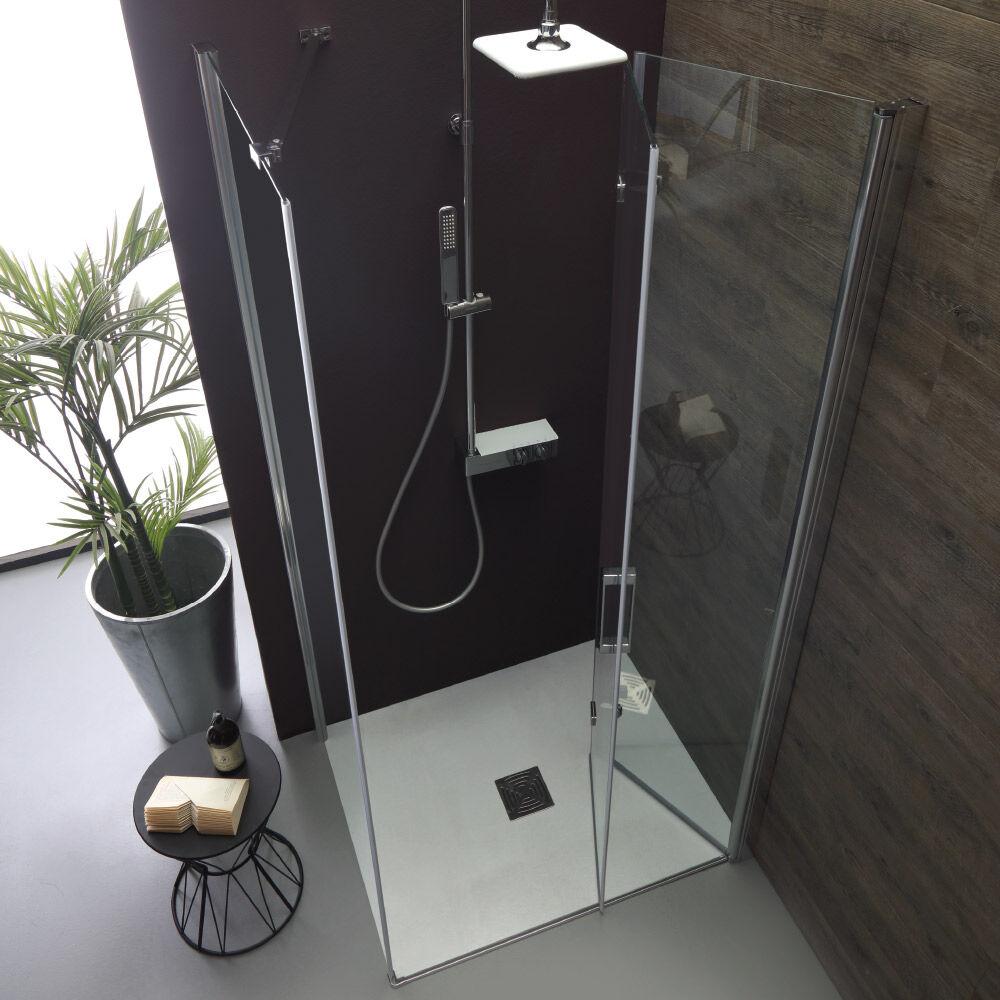 Tamanaco SOUL - Box doccia con porta a soffietto e lato fisso