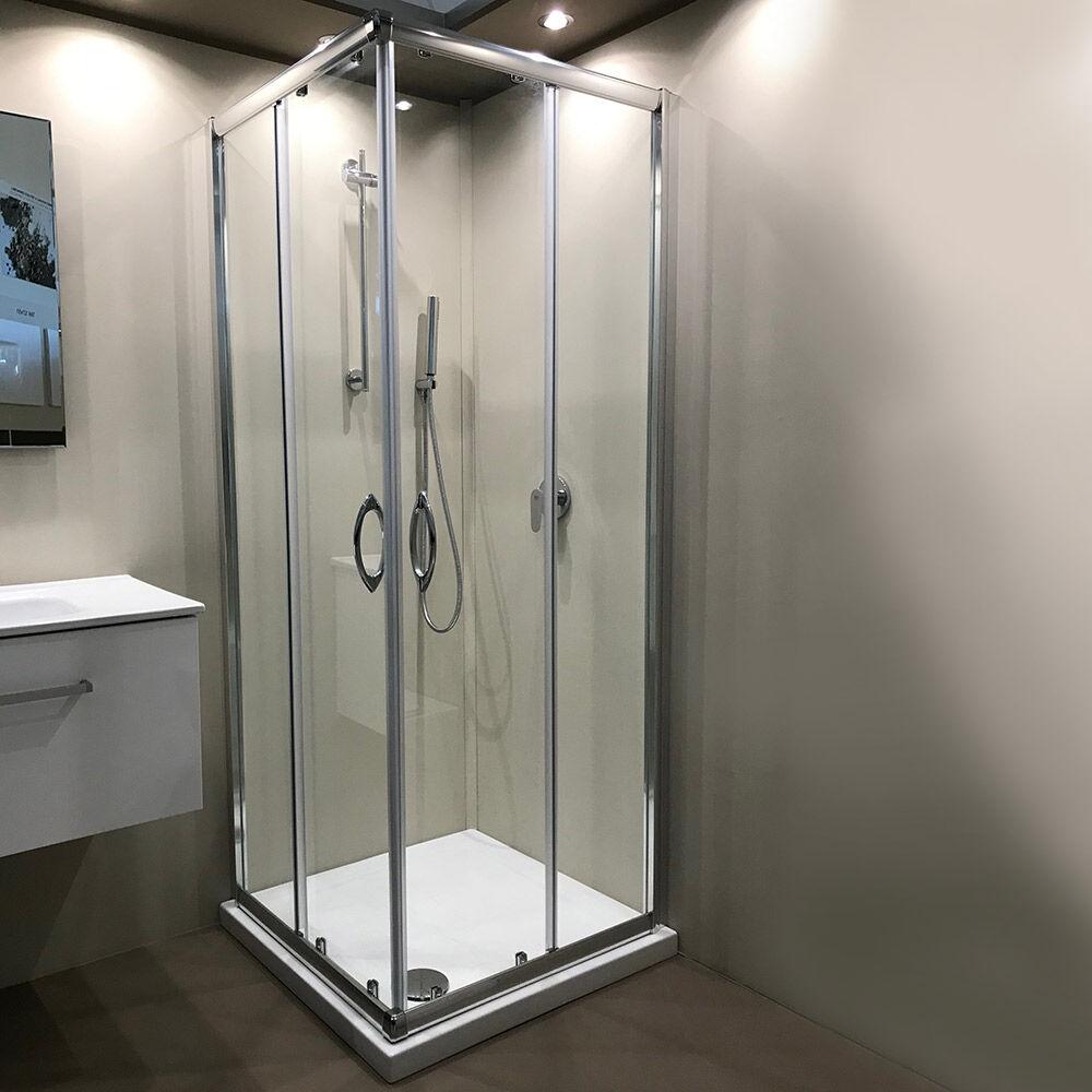 Tamanaco SUPER PROMOZIONE - Box doccia con doppia porta scorrevole cm 80x80