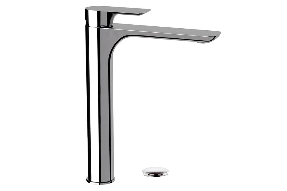 Remer INFINITY - Miscelatore alto per lavabo con piletta click-clack