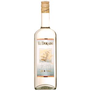 Demerara Rum Superior White Demerara El Dorado 1Litro