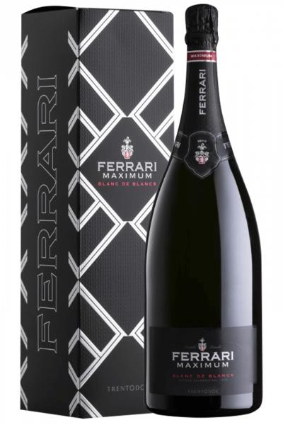 Fratelli Lunelli Trento DOC Maximum Brut Blanc De Blancs Ferrari (Magnum con Astuccio)