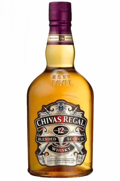 Chivas Brothers Chivas Regal Blended Scotch Whisky 12 Anni 70cl (Astucciato)