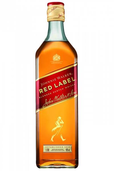 John Walker & Sons Johnnie Walker Red Label Old Scotch Whisky 1Litro