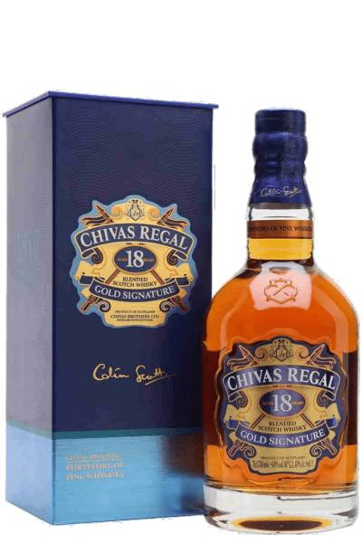 Chivas Brothers Chivas Regal Gold Signature 18 Anni Blended Scotch Whisky 70cl (Astucciato)