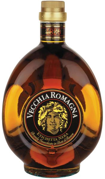 Distilleria Giovanni Buton Brandy Vecchia Romagna Etichetta Nera 1,5Litri (Magnum)