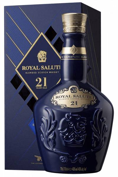 Chivas Brothers Chivas Regal Royal Salute 21 Anni Blended Scotch Whisky 75cl (Astucciato)