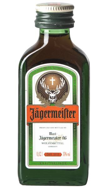 Jägermeister Mignon Amaro Jägermeister 2cl
