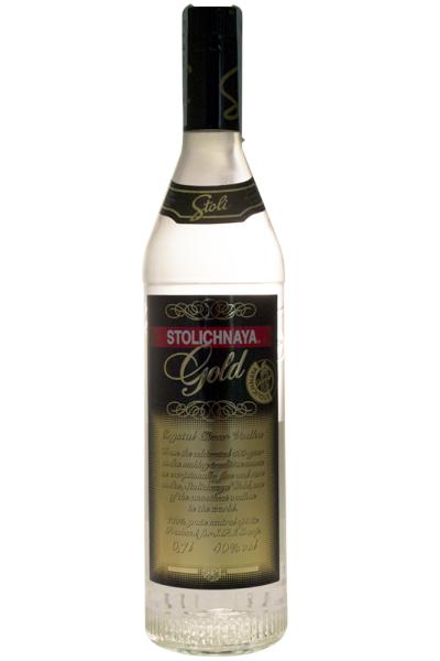 Stolichnaya Vodka Stolichnaya Gold 70cl
