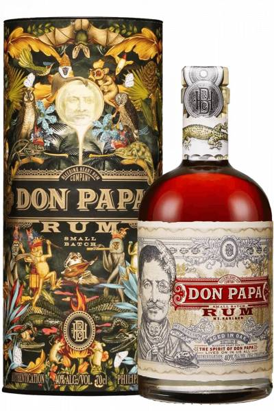 The Bleeding Heart Rum Company Rum Don Papa 70cl (Astucciato)