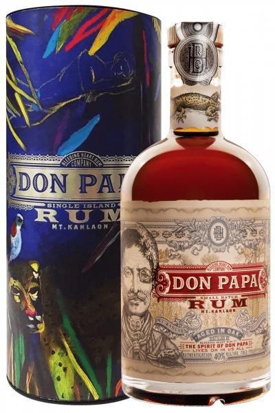 The Bleeding Heart Rum Company Rum Don Papa 70cl (Astucciato)