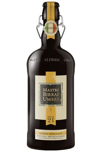 Mastri Birrai Umbri Cotta 21 Birra Speciale Bionda Artigianale 75cl