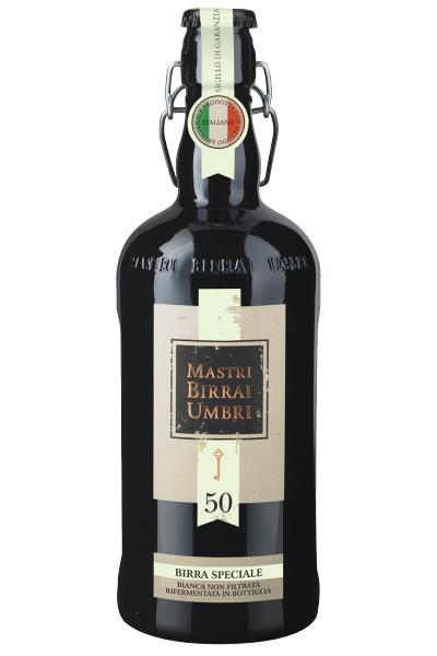 Mastri Birrai Umbri Cotta 50 Birra Speciale Bianca 75cl
