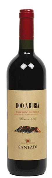 Cantina Santadi Carignano Del Sulcis DOC Rocca Rubia Riserva 2017 Cantina Santadi