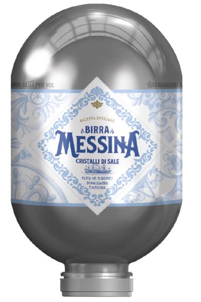 Heineken Fusto Birra Messina Cristalli Di Sale Blade 8 Litri