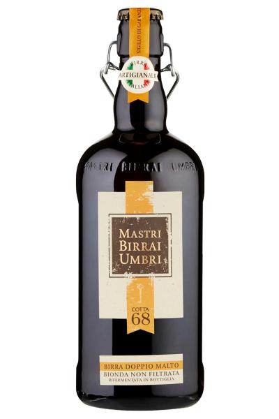 Mastri Birrai Umbri Cotta 68 Birra Doppio Malto Bionda 75cl