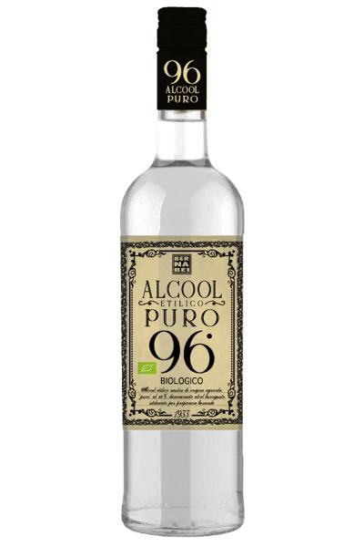 Silvio Carta Alcool Etilico Puro 96% Biologico Bernabei 1Litro