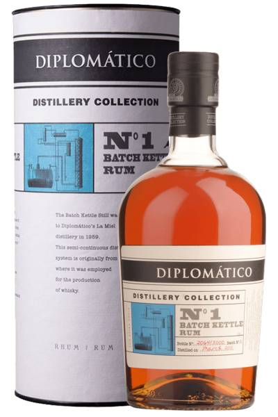 Distileriás Unidas Rum Diplomatico Distillery Collection N° 1 Single Kettle Batch 70cl (Astucciato)