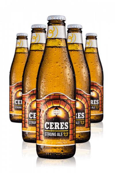 Royal Unibrew Ceres Strong Ale Cassa da 24 bottiglie x 33cl