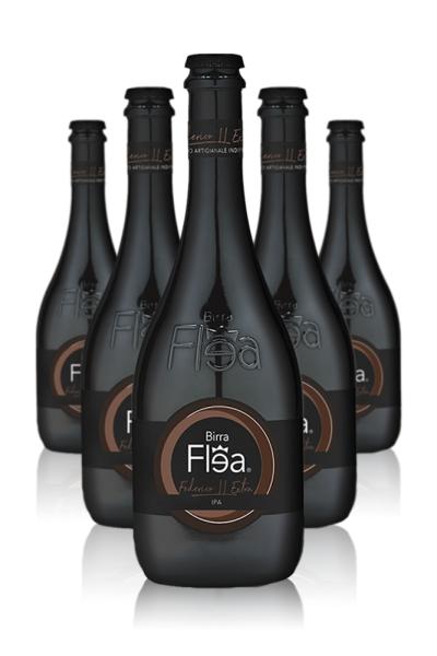Birra Flea Federico II Extra Ipa Cassa Da 12 Bottiglie x 33cl