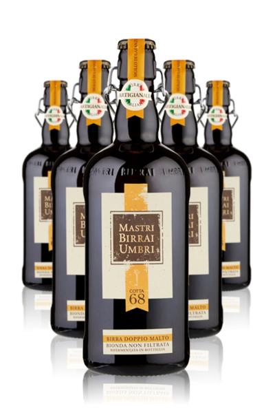 Mastri Birrai Umbri Cotta 68 Doppio Malto Bionda Cassa da 6 bottiglie x 75cl