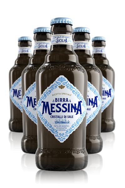 Heineken Birra Messina Cristalli Di Sale Cassa Da 24 Bottiglie x 33cl