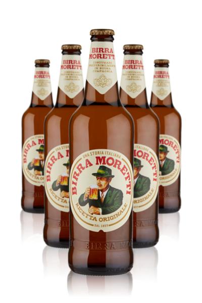 Moretti Birra Moretti Ricetta Originale Cassa da 15 bottiglie x 66cl