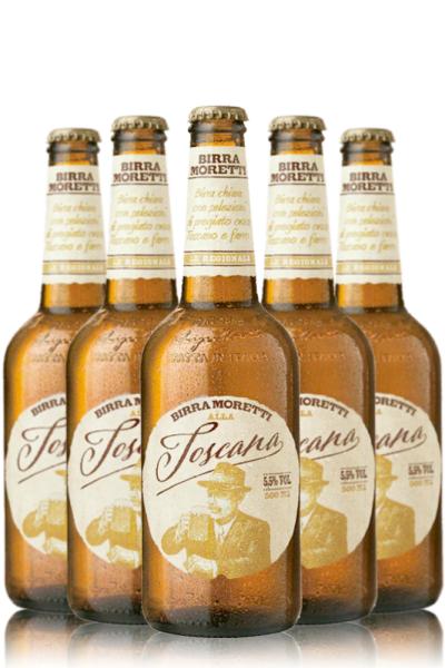 Moretti Birra Moretti Alla Toscana Cassa da 20 bottiglie x 50cl