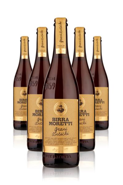 Moretti Birra Moretti Grani Antichi Cassa da 6 bottiglie x 75cl