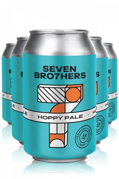 Seven Bro7hers Seven Bro7her Hoppy Pale Ale Cassa da 12 Lattine x 33cl