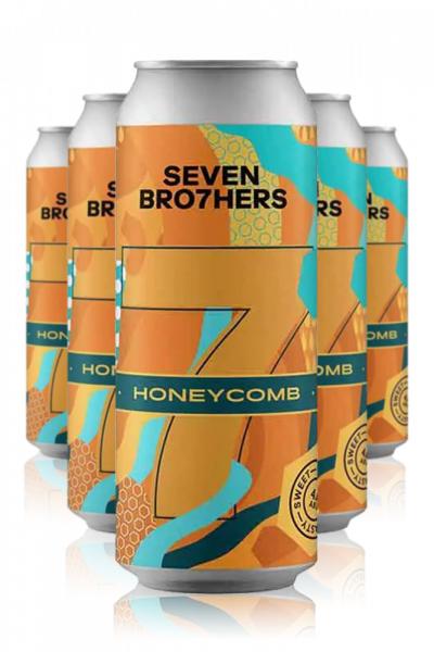 Seven Bro7hers Seven Bro7her Honeycomb Pale Ale Cassa da 12 Lattine x 33cl