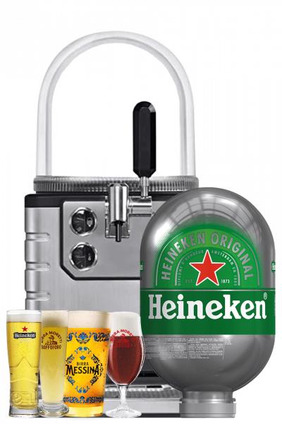 Heineken Spillatore per Fusto Blade 8 LT + 1 Fusto Blade Heineken 8 LT + Starter Kit