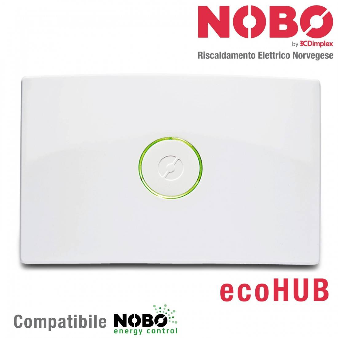 NOBO ecoHUB per controllo via APP radiatori elettrici Norvegesi NOBO