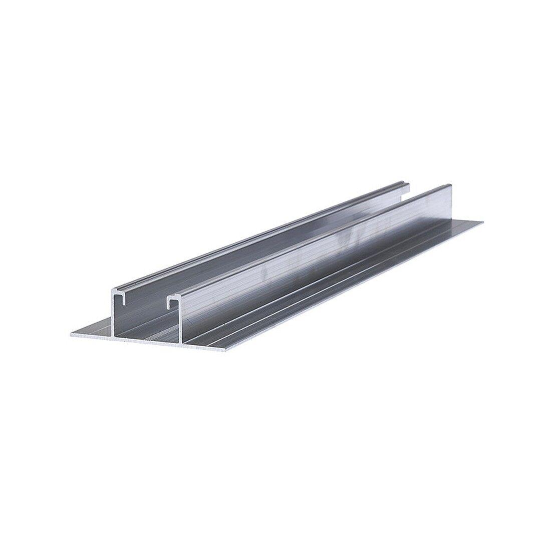 Fischer Profilo Solar-Flat P400 per fissaggio pannelli fotovoltaici su lamiera grecata Fischer